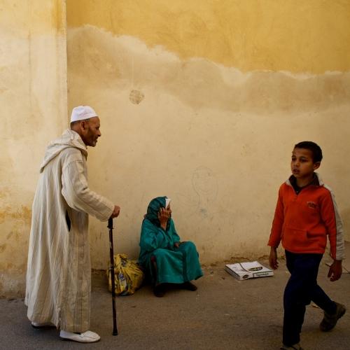 Achat photo Le vieillard, la mendiante et l\
