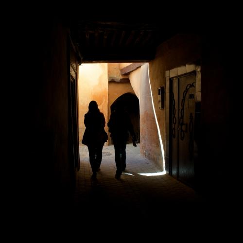 Achat photo Couple en silhouette