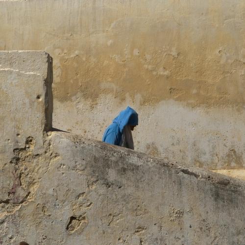 Vente photo Tunique bleue
