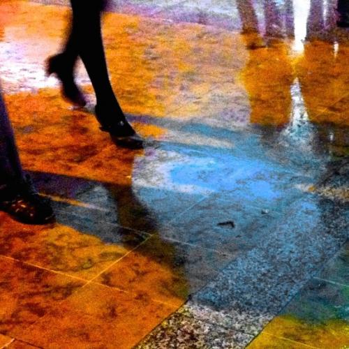 Galerie art : photo Reflet passante