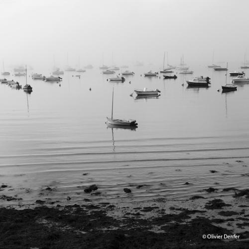 Photo Brume sur le mouillage de Olivier Denfer