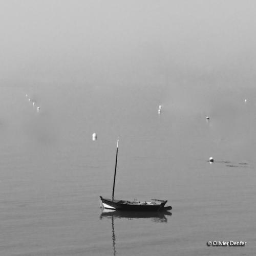 Photo Seul au mouillage de Olivier Denfer